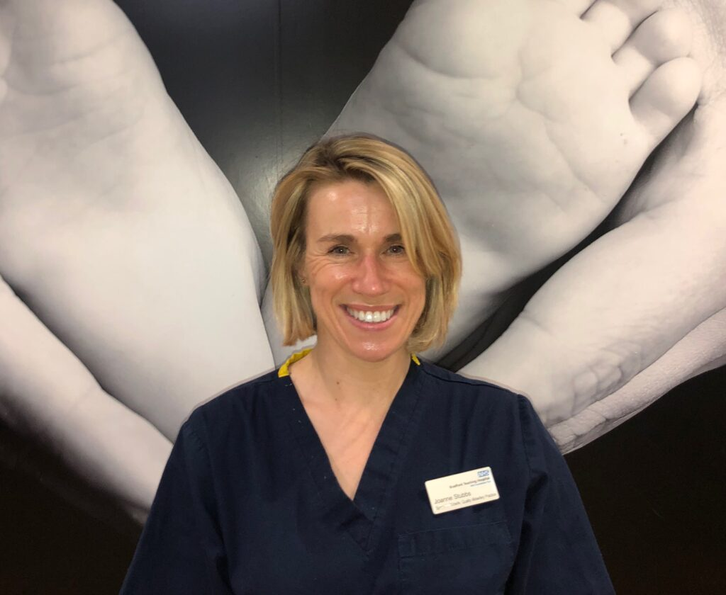 Jo Stubbs, Specialist Midwife for Quality Practice