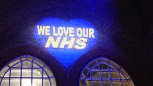 blue 72nd NHS anniversary