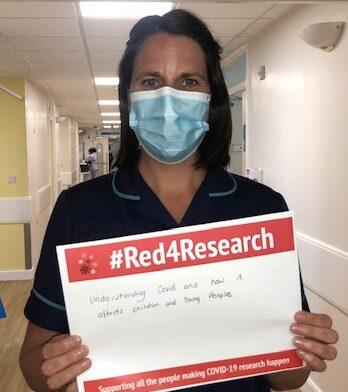 Children's Clinical Research Team leader Rachel Wane