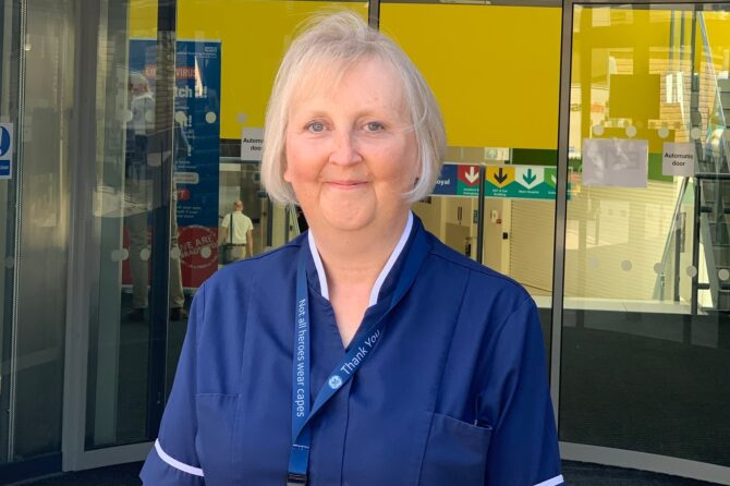 Nurse Consultant Claire awarded MBE for outstanding service during pandemic