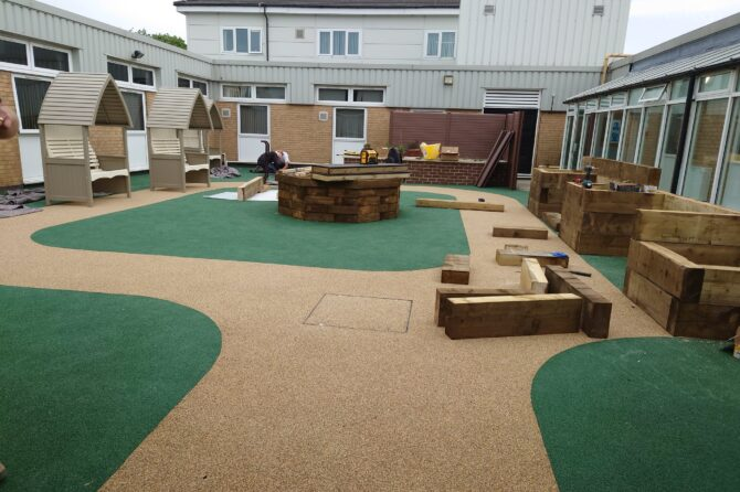 New sensory garden set to bloom at Westwood Park hospital