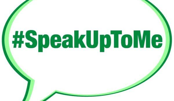 Freedom to Speak Up graphic