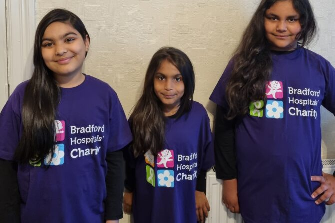 Cousins have hair-raising plans to raise funds for Trust's charity