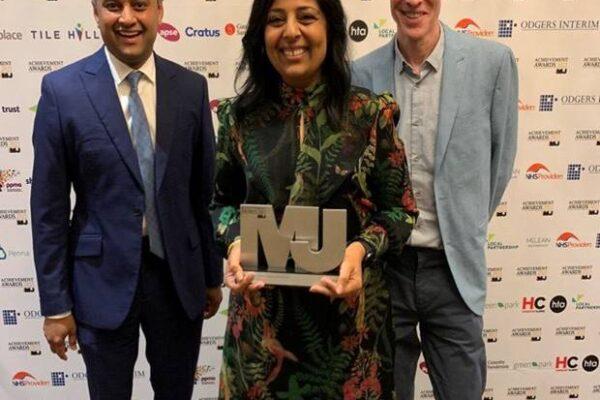 Bradford District Partnership Scoops National Award